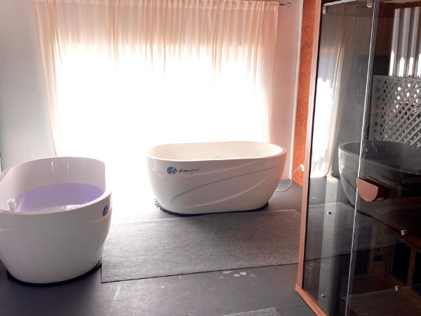 contrast hot/cold Dreampod therapy for recovery in Byron Bay and South Golden Beach
